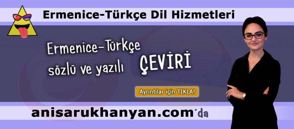 Ermenice Yazılı Çeviri